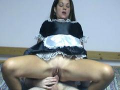Sexy Maid Gives Blowjob & Riding Cock Movies