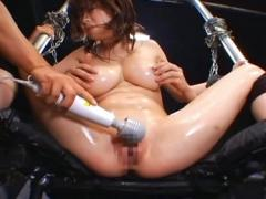 Tied Asian Girl Gets Dildo Toying Maledom Movies