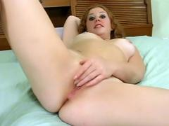 Young Redhead With Perky Tits Fingering Movies