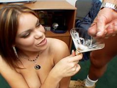 Busty Babe Drinking Sperm Gangbang Movies
