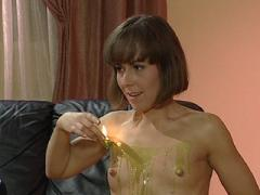 Caned F Slave Wax Tortured On Sofa Maledom Movies