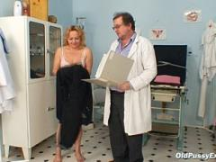 Mature Blonde Medical Exam By M Doctor Movies