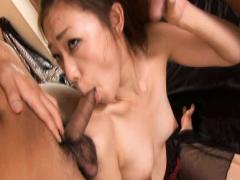 Japanese F Teacher Toying & Blowjob MMF Movies