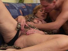 Lovuptions Old Woman Seduces A Young Horny Biker
