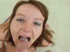 Amateur Swedish Slut Sucks And Swallows Some Cum