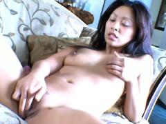 Latina With Small Boobs Fingering On Sofa Movies