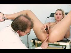 Blond Chick Gets Medical Exam By M Doctor Movies