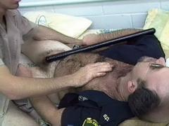 Hairy Man Tom Katt And His Friends Go For A Nasty Threesome And Satisfy Each