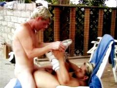 Yummy And Hot Blonde Hunks Indulging In An Outdoor Gay Enjoy...