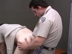 Burly Gay Policemen Screw Each Other
