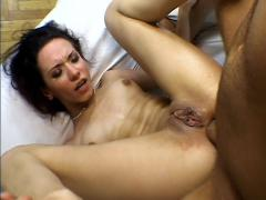 Naughty Teen Liza Takes Hard Cock Pounding In Her Dripping W...