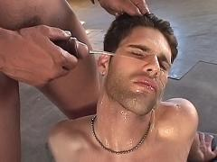 Gay Ass Gets Rammed And Showered With Pee