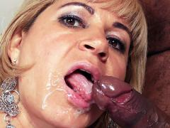 Slutty Wife Chamara Gets Her Face Showered With Jizz After G...