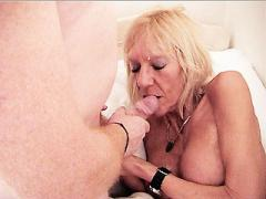 Grandma Kay Stripping Off In Front Of A Younger Guy To Show ...