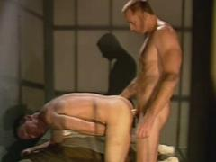 Big Muscled Gay Hunk Fucking His Lovers Ass Inside A Prison ...