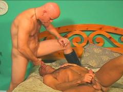 Super Hot Blowjob Goes 69 With These Two Studly Dudes