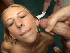 Krysta-Lynn Lovely Fighting Against Guys With Her Mouth