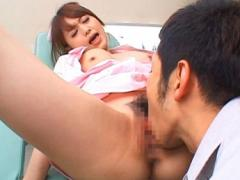 Akiho Yoshizawa Nurse Sits On Gynecologist Chair And Is Fondled