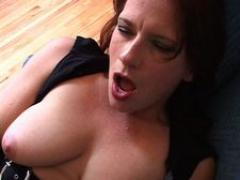 Hot Mom Facial Cumshot