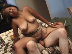 Asian Granny Spreading Her Pussy For A Fuck