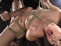 Aria Alexander Is Captured In Bondage And Made To Cum By Mal...