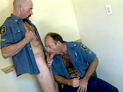 Hard Muscled Gay Cops John Whethers And Jorgen Varg Playing ...