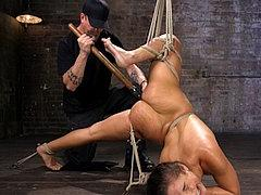 Abella Danger In Bdsm Domination And Punishment While In Bon...