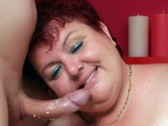 Redhead Plumper Margaret Is All Smiles As Her Fat Pussy Get ...