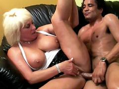 Mature Granny Dane Hayes And Her Partner Gets All Sweaty Doi...