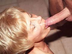 Pretty Mature Babe Rosalie Takes A Mean Pounding On The Floo...