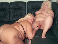 Melinda Shy And Faye Are Massive Blondes Taking Their Clothe...