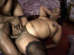 Sexy Ebony Dimples Slobbering A Black Manpole Before Taking ...