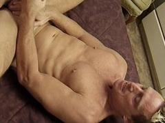 Muscle Hunk Kyle Richards Spreading His Fleshy Backside To W...