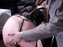 Horny Nastasha Sweet Gets Teased And Spanked With A Ruler In...