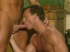 Gay Bear Musclemen Indecently Satisfying Their Dicks In A Se...