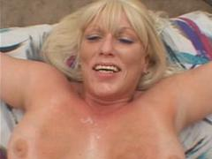 Big Breasted Tanned Blonde MILF In Horny And Gorgeous Cumshot