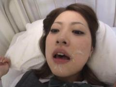 Jav Asian Doll Gets Sperm In Mouth While Sucking Dick At Hospital
