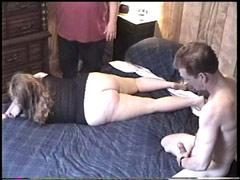 Hung Dude Eats His Obese Girlfriends Juicy Snatch