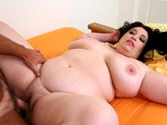 Mature BBW Playing With Huge Tits While Getting Fucked