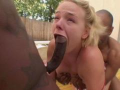 Missy Monroe Sucks Black Monster Cock With Great Charisma