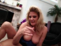 Horny Busty MILFs Clashed In Some Serious Muff Diving
