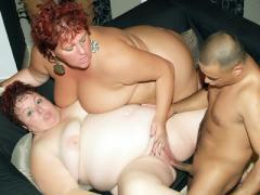 Redhead Plumpers Louise And Mindy Go For A Raunchy Threesome And Go For Hardcore Fucking Li