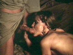 Two Horny Arabian Guys Pounding A Seventies Girl Together
