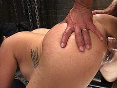 Kimmy Lee Is Bound In Rope For Bdsm Anal Sex Training By Mal...