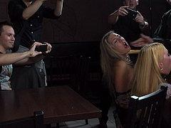 Isabella Clark And Mandy Public Bdsm Fucked And Humiliated I...