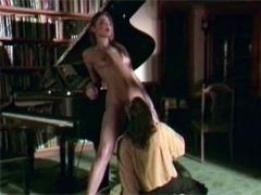 Classic Piano Player Loves To Lick A Wet Seventies Pussy