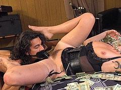 Maitresse Madeline Femdom Spanks And Money Dominates Pay Pig...