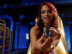 Nicki Hunter Redhead Goddess In Latex Dress In Chastity Pov ...