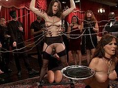 Freya French And Syren De Mer In Anal Sex Training At Bdsm P...