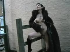 Skinny Goth Amateur Public Nudity And Outdoor Pissing Babe N...